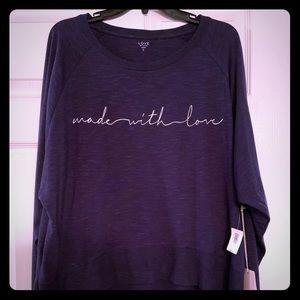 NWT Gap Love collection sleep shirt